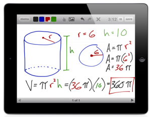 Whiteboard iPad